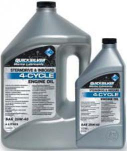 Quicksilver 25W40 Sterndrive and Inboard Oil 1 Litre