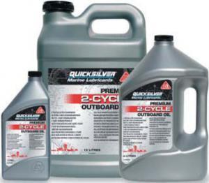 Quicksilver Premium 2 stroke oil 1 litre