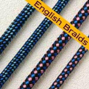 English Braids Flairline Polyester Rope 7mm in red  floating line