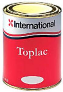 International Toplac boat paint