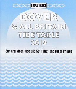 Lavers Dover  All Britain Tide Table 2019  1 only left