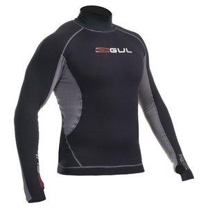 Gul Evotherm Rash Vest short or long sleeved  BlackGrey