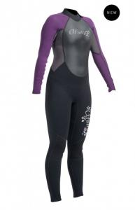 Gul G Force full Wetsuit BlackMulberry 6000