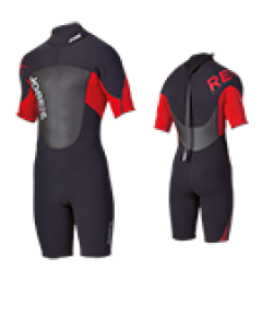 Jobe Mens Remix Shorty Wetsuit Red