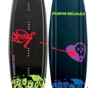 Airhead Heart Attack Wakeboard with Airhead Wrap Bindings  NOW REDUCED TO 12500  SAVE 1750  1 ONLY