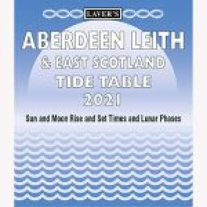 Lavers Aberdeen Leith  East Scotland TideTable 2021