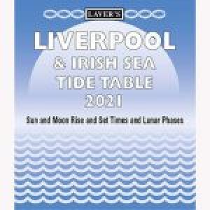 Lavers Liverpool  Irish Sea Tide Table 2021
