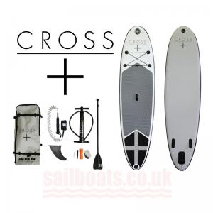 Cross Inflatable Stand Up  Paddleboard 10 7 package  SPECIAL OFFER at 37999 RRP is 42500 DISPLAY MODEL ONLY LEFT
