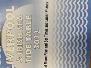 Lavers Liverpool  Irish Sea TideTable 2022